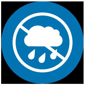 Rain block up to 97%