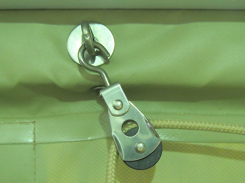Rope Pulley Blind stainless steel pulley and hooks