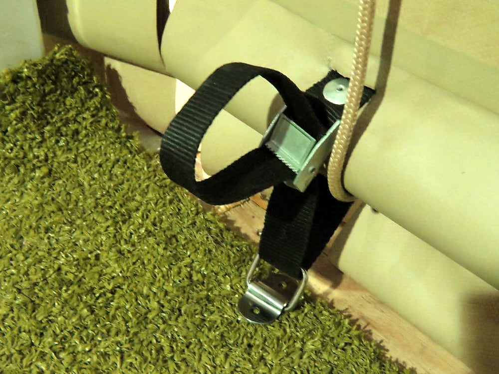 Rope Pulley Blind webbing with cambuckle