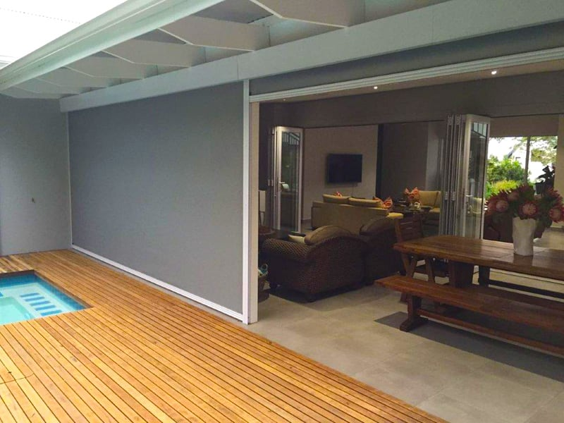 Slidetrack Blinds - an elegant shade solution for your home
