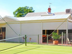 Slidetrack Blinds - Visiontex - Shade for sports facilities