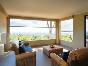 Slidetrack Blinds - Visiontex Plus - indoor view