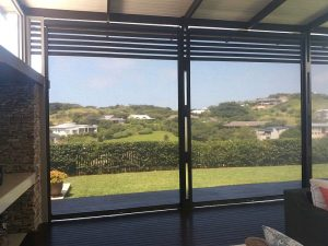 Slidetrack Blinds - Visiontex - indoor view