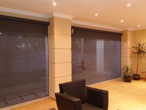 Slidetrack Blinds - Visiontex - interior view