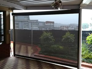 Slidetrack Blinds - Visiontex - shade screen