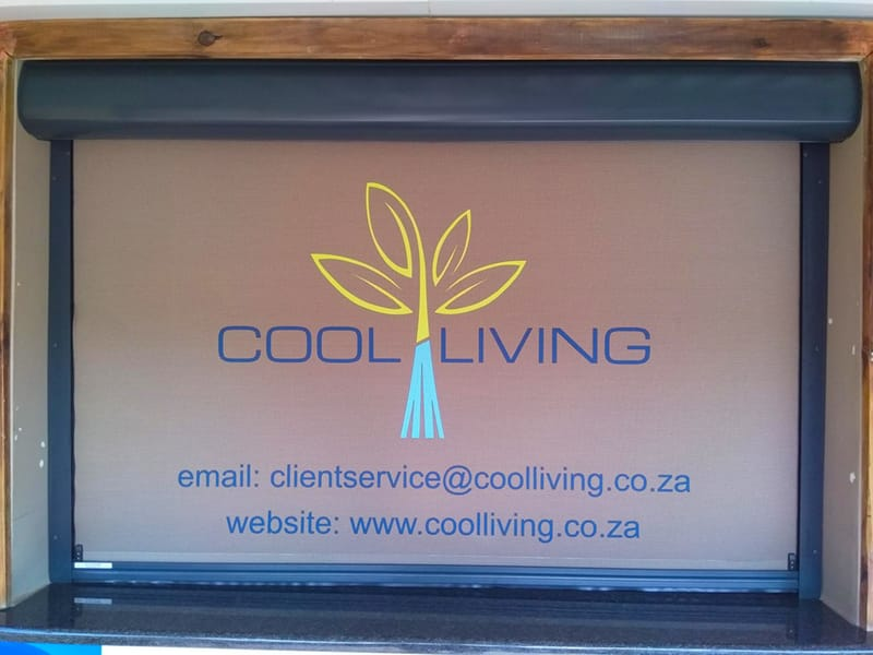 Slidetrack Blinds - Amanzimtoti Primary - The Shed Canteen
