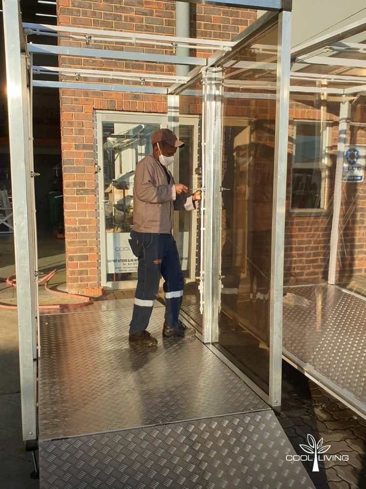 The Sanitisation Spray Tunnel - Manufacturing