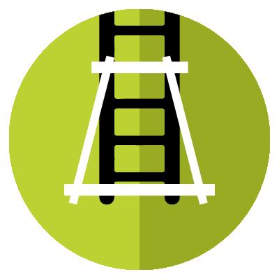 Fruit picking ladder benefit - Ultra Stable