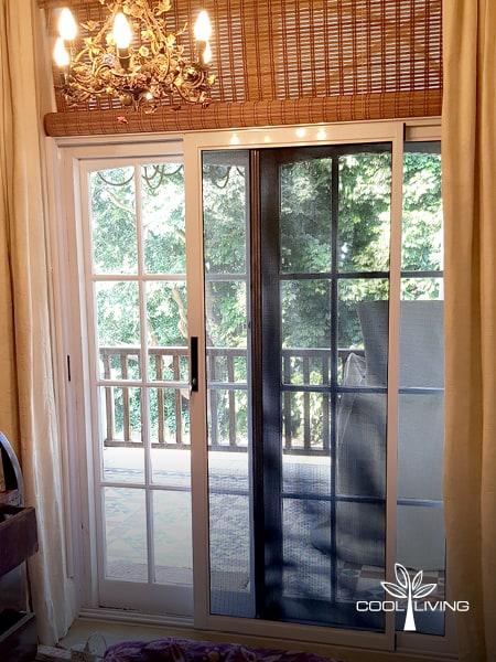 Security and Baboon Screen - Open Stainless Steel Door