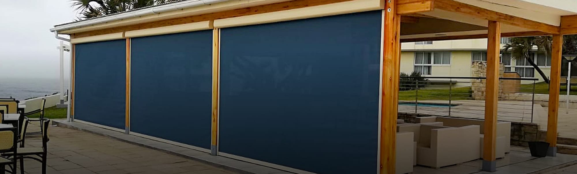 Slidetrack blinds premium quality outdoor blind collection