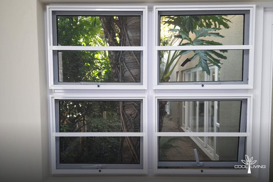 Four Window Insect Screen