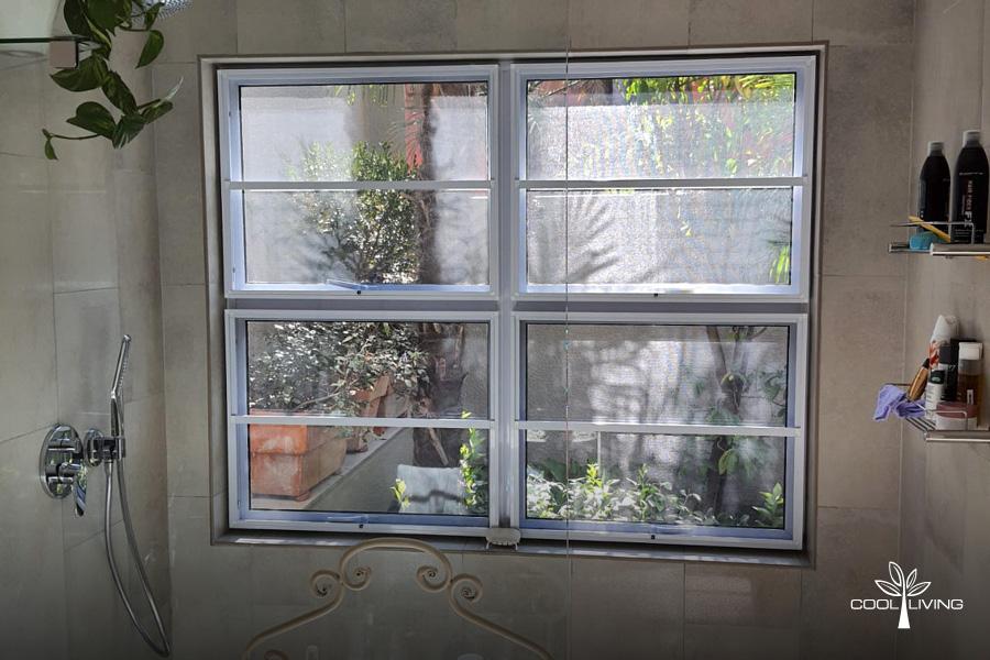 Bathroom Window Insect Screens