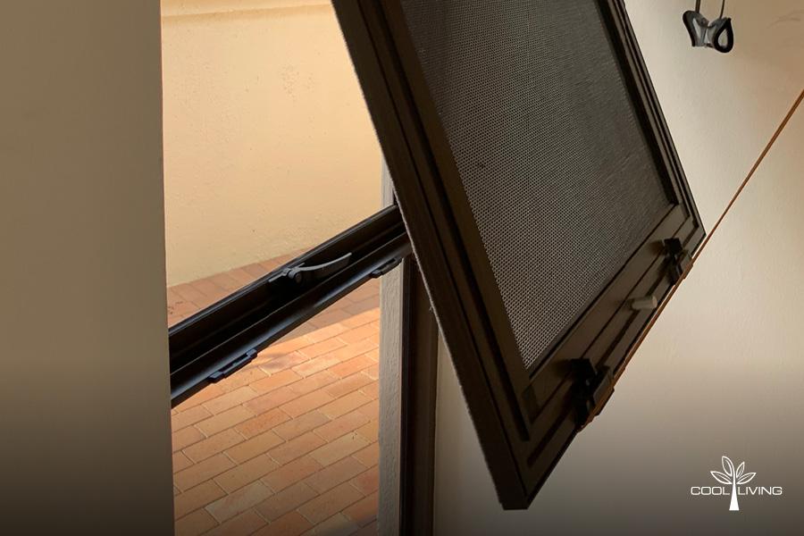 Open Window Security Screen
