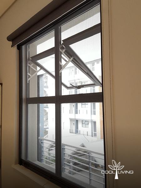Casette Window Screen Open