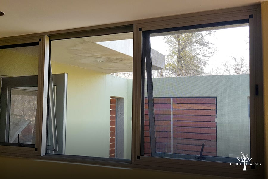 Horizontal Sliding Window Screen