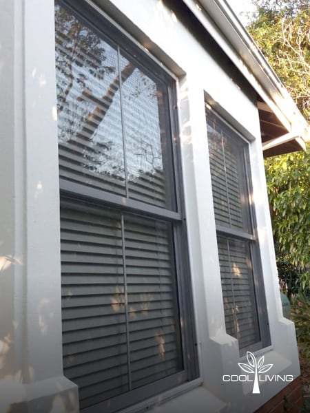 Removable Panel Window Screen Outside