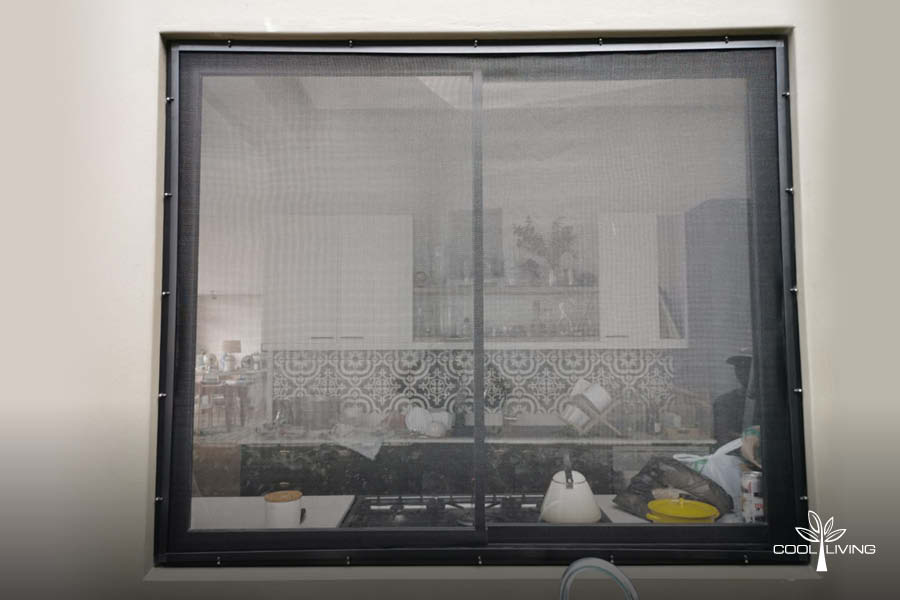 Removable Window Screen for Sliding Windows