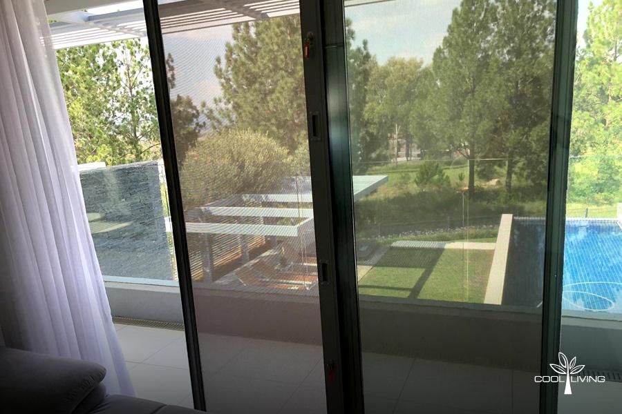 Sliding Screens Doors using Visiontex Plus Material