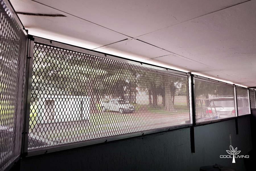Window Screen Inner Sash on Sub Frame
