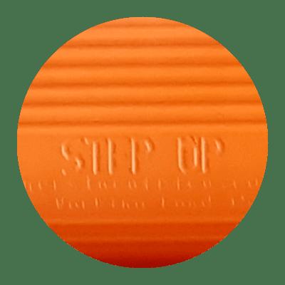 Step up Fruit Picking Ladder Colour Range Swatch - Orange