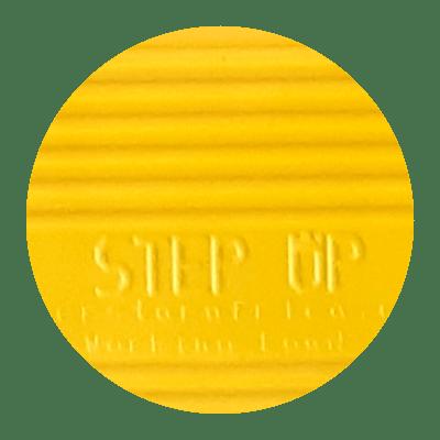 Step up Fruit Picking Ladder Colour Range Swatch - Yellow