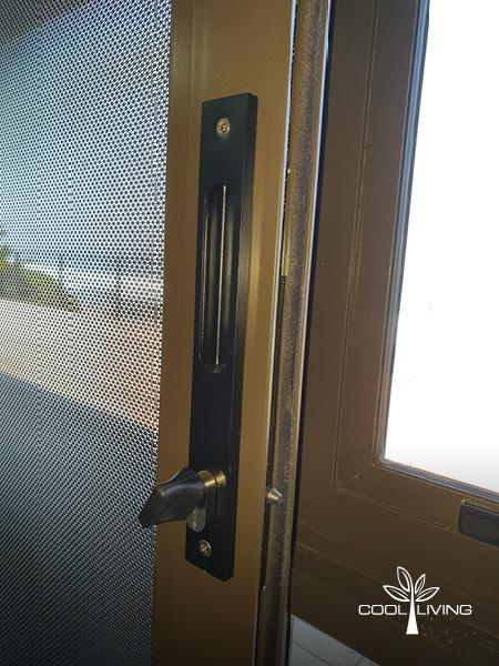 Hook locks with anti-lift pins for security doors